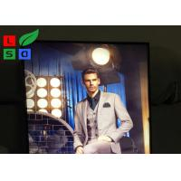 Flat Pack LED Fabric Light Box For Indoor Retail Advertising Sign Board Manufactures