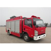 6 Forward Gear Light Up Fire Truck , Pneumatic Lifting Poker Heavy Rescue Fire Truck Manufactures