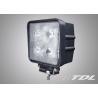 12V 40W Flood Lighting LED Vehicle Work Lights IP67 Waterproof Lamp for Bus / Trucks Manufactures
