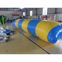 Quality Outdoor Inflatable Water Toys , Combination Inflatable Water Trampoline With for sale