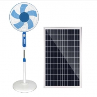 Phosphate Battery 15W 24000mah Solar Pedestal Fan Remote Control Manufactures