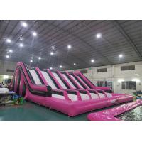 Huge Insane Inflatable Obstacle Challenges For Adult With Digital Printing Logo Manufactures