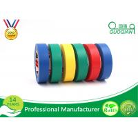 Adhesive Insulation Masking PVC Multi Colored Electrical Tape Heat - Resistant Manufactures
