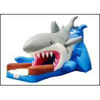 Large Giant Commercial Shark Bouncy Castle with Slide for Kids Shark Inflatable Bouncy Playground Manufactures