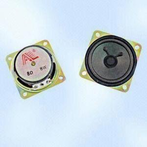 4Ω Raw Loudspeakers with 45mm Magnet Diameter Manufactures