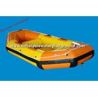 Small Funny PVC Inflatable Drift Boat Inflatable River Rafts For Fishing Manufactures