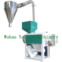 15kw Rice Polisher Machine with cyclon, Small Rice Water Polisher 800-1200 kg Per Hour Manufactures