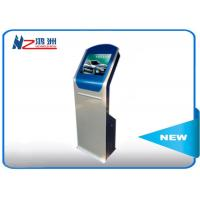 Easy control self service kiosk with cash acceptor / self service check in kiosk Manufactures