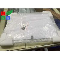 Quality Silver Trim Color LED Crystal Light Box 3 Pieces Per Column With Cable System for sale