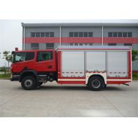 4x2 Drive Chemical Accidents Rescue And Salvage Fire Vehicle Euro 4 Emission Standard Manufactures