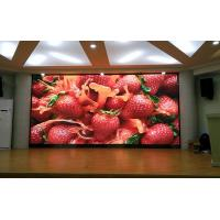 2000CD/Sqm Brightness Indoor Full Color LED Display 1R1G1B SMD3528 Long Life Span Manufactures