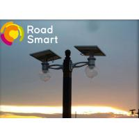 160lm/w Solar Powered Road Lights Double Arm Installation With Adjustable Solar Panel Manufactures