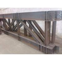 Truss Steel Buildings Lightweight , Prefabricated Steel Structures Manufactures