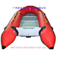 Quality 0.9 Mm Good Tension PVC Tarpaulin Inflatable Raft With Awesome Outlook for sale