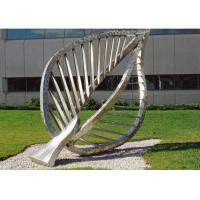 Large Contemporary Art Outdoor Metal Sculpture , Leaf Metal Garden Sculptures Manufactures