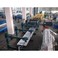 China Thin Type Roof Panel Roll Forming Machine , Corrugated Sheet Making Machine Normal Speed on sale