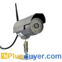 China Wireless Outdoor IP Camera w/ Built-In DVR (720p HD, 48 IR LEDs Night Vision) on sale