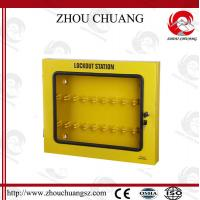 Combination Safety Long Steel Lockout Station Used With Padlocks Manufactures