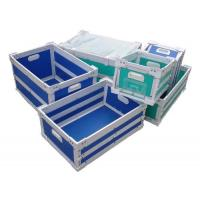 Moistureproof Corrosion Resistance Plastic Moving Boxes Correx Box For Food / Drink Manufactures