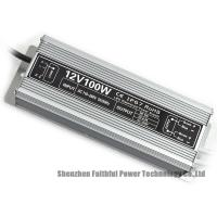 Buy cheap Low Ripple Noise Power Supply 100 Watt , IP67 Constant Voltage Led Driver 12v from wholesalers