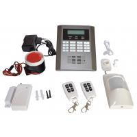 Quality Quad-Band GSM Security Alarm System PSTN LCD Display Wireless Home Burglar for sale