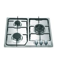 Stainless Steel 3 Burner Gas Hob , Built In Three Burner Gas Stove Accurate Control Manufactures