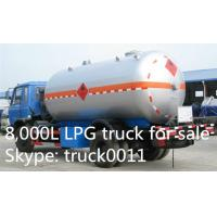 5000L -5500L DFAC LPG Bobtail Tanker Truck With Dispenser Filling Gas Machine, hot sale propane gas dispensing truck Manufactures