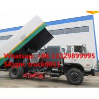 dongfneg 4*2 RHD 170hp  high quality sweeper truck for sale, best price Dongfeng brand RHD 7tons diesel street sweeper Manufactures