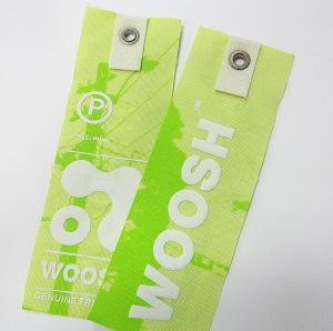 OK3D Custom  Blinkblink Hologram Sticker 3D Hangtag Paper Tag for garments and shoes Manufactures