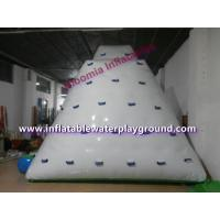 Quality Kids & Adults Inflatable Lake Water Park, Bay Aquatic Park With Water Bouncer for sale