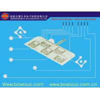 Quality Front Panel Graphic Membrane Switch Overlay With LED and Metal Dome for sale
