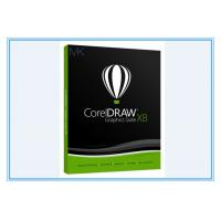 Buy cheap CorelDRAW Graphics Suite X8 for Windows 7/8/10 SEALED Retail Box With Media from wholesalers