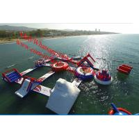 Quality adult inflatable water park supplies Floating games water park games for adults for sale