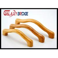 Natual Materials Wooden Furniture Fittings Hardware , Painted Pine Wood Cabinet Pulls And knobs Manufactures