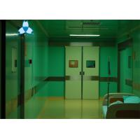 Automatic Hospital Air Filter , Double Leaf Hospital Sliding Doors For Hospital ICU Door Manufactures