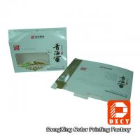 Quality Eco Food Packaging Fold Paper Box Hot Foil Stamping With Open Window for sale