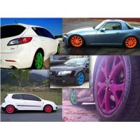 Quality High Gloss Auto Spray Paint / Red Rubber Car Paint Spray Can Impact Resistance for sale