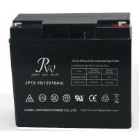 Valve Regulated Recycling Lead Acid Batteries , 12V 18AH Sealed Deep Cycle Battery Manufactures