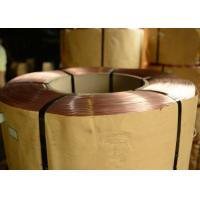 0.78mm  - 1.50mm Bright Tyre Bead Wire  , Copper coated Steel Wire Manufactures