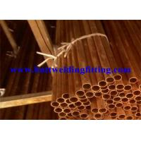 Round Seamless Copper Tube With ASTM B42 For Air Conditioning Manufactures