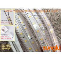Buy cheap 220V No Wiring 2835 60D Waterproof LED Rope Light , High Voltage Led Flexible Strip Lights from wholesalers
