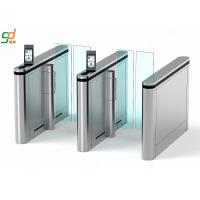 Automatic Supermarket Swing Gate,Face recognition Glass Arm Turnstile Systems Manufactures