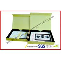 China Luxury Paper Rigid Gift Boxes, Magnetic Custom Printed Packaging Boxes with PS tray on sale