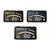 """Customized 4e Obd2 Trip Computer Detect ECU Reflection Dashboard Speed On Windshield 4E 5.5 """" Manufactures"""
