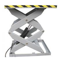 1.5M 5000Kg Heavy Duty Electrical Aerial Stationary Scissor Lift for Painting / Cleaning Manufactures