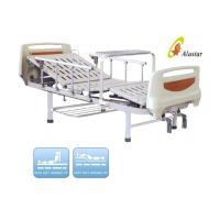 Quality Medical Hospital Beds Two Crank With Aluminium Railing For Hospital Beds ( ALS-M213) for sale