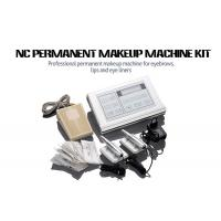 Stainless Steel Permanent Makeup Tattoo Machine Kit With Cartridge Needle Manufactures