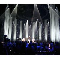 Professional Remote Controlled LED Star Curtain Backdrop starlight backdrop curtain Manufactures