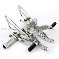Wear Resistance Motorcycle Rear Set Footrests CNC Aluminum Parts Manufactures