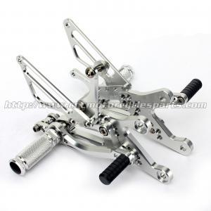 Wear Resistance Motorcycle Rear Set Footrests CNC Aluminum Parts Manufactures